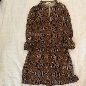 Michael Kors Tops - SNAKE PRINT MICHAEL KORS TUNIC/DRESS